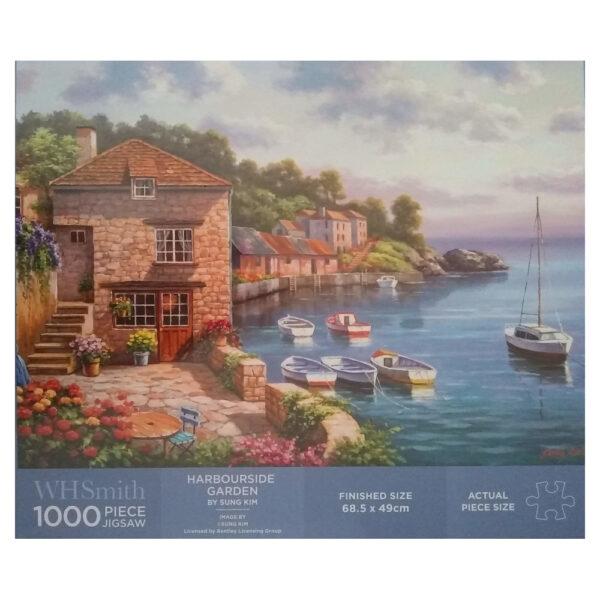 WHSmith Harbourside Garden by Sung Kim 36850655 1000 pieces jigsaw box