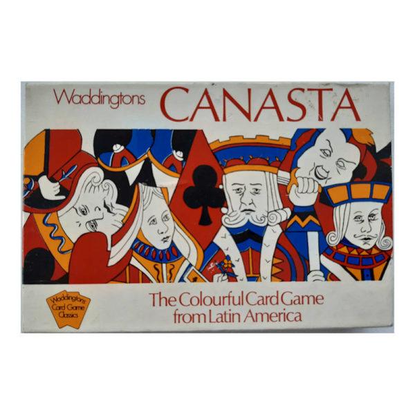 Waddingtons Canasta Vintage Collectable Card Game Box