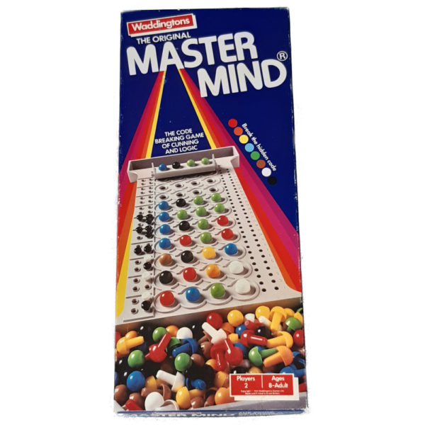 Waddingtons The Original Mastermind 1984 Vintage Game Box