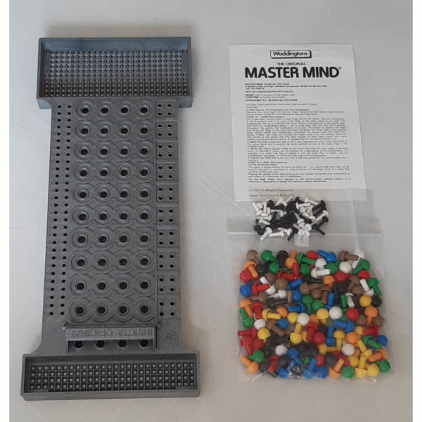 Waddingtons The Original Mastermind 1984 Vintage Game Contents Instructions