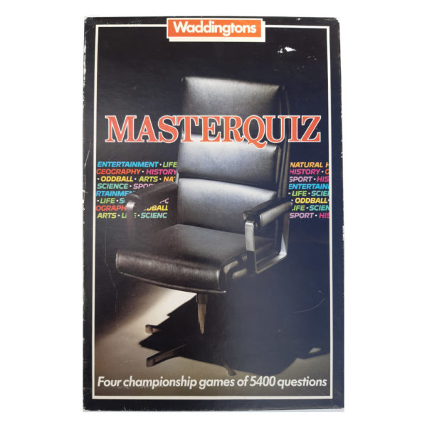 Waddingtons Masterquiz 1984 Collectable Game Box
