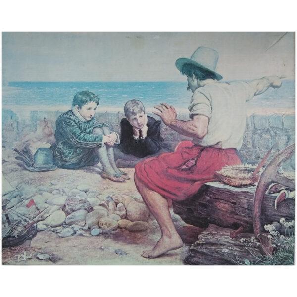 Waddingtons The Boyhood of Rayleigh by Sir John Everett Millais Ref 524B 500 pieces jigsaw box
