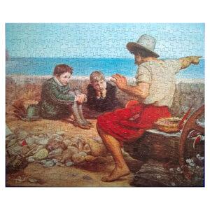 Waddingtons The Boyhood of Rayleigh by Sir John Everett Millais Ref 524B 500 pieces jigsaw complete