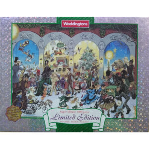 Waddingtons The Twelve Days of Christmas 1998 Super Deluxe Double Sided Limited Edition Jigsaw Box