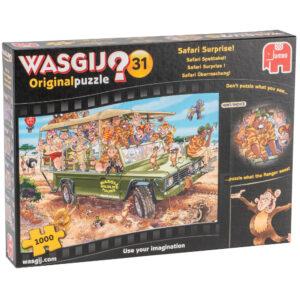 Wasgij Original 31 Safari Surprise Jumbo 19164 Jigsaw Box