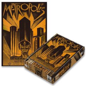 Zee Metropolis Film Poster ZEE002PZ Jigsaw Box