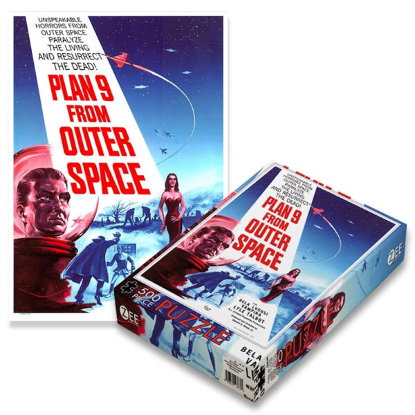 Zee Plan 9 From Outer Space Film Poster ZEE003PZ Jigsaw Box