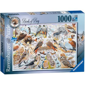 Ravensburger Birds of Prey Avian World No 1 Jigsaw Box by Richard Partis