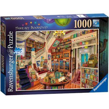 Ravensburger Fantasy Bookshop 1000 pieces jigsaw box
